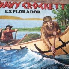 Figuras de Goma y PVC: SOBRE VACÍO - DAVY CROCKETT - MONTAPLEX. Lote 262066810