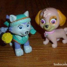 Figuras de Goma y PVC: PATRULLA CANINA. LOTE PERRITAS. Lote 262130165