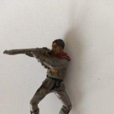 Figuras de Goma y PVC: FIGURA VAQUERO JECSAN GOMA. Lote 262139905