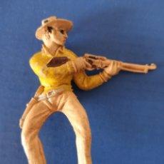 Figuras de Goma y PVC: FIGURA VAQUERO JECSAN. Lote 262140130