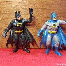 Figuras de Goma y PVC: LOTE DE 2 FIGURAS DE BATMAN COMICS SPAIN ALA AZUL LE FALTA LA MANO. Lote 262229610