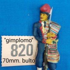 Figuras de Goma y PVC: ALYMER ALMIRALL CHAUVE BENEITO - LOTE 820 - VOLUNTARIO CATALAN AFRICA. Lote 262280840