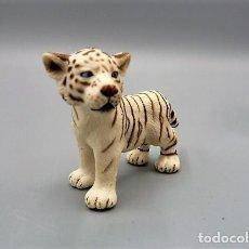 Figuras de Goma y PVC: TIGRE BLANCO CACHORRO. SCHLEICH. Lote 262324480