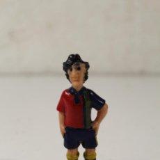 Figuras de Goma y PVC: FIGURA DE PVC , JUGADOR DE FUTBOL F.C BARCELONA , BARSA ,. Lote 262343755
