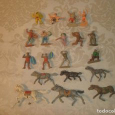 Figuras de Goma y PVC: ESTEREOPLAST PECH REAMSA VIKINGOS UNICORNIO PISTOLEROS INDIOS. Lote 262429415