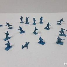 Figuras de Goma y PVC: LOTE DE SOLDADITOS MONTAPLEX . ALEMANES . AÑOS 70 / 80. Lote 262526025