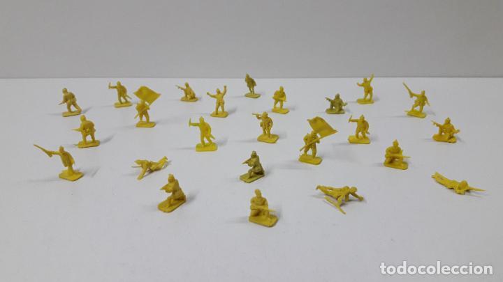 Figuras de Goma y PVC: LOTE DE SOLDADITOS MONTAPLEX . JAPONESES . AÑOS 70 / 80 - Foto 2 - 262526390
