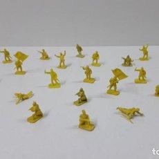 Figuras de Goma y PVC: LOTE DE SOLDADITOS MONTAPLEX . JAPONESES . AÑOS 70 / 80. Lote 262526390