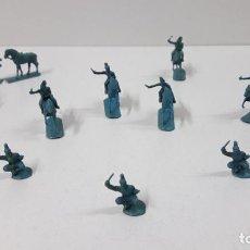 Figuras de Goma y PVC: LOTE DE SOLDADITOS MONTAPLEX - CABALLERIA DE NAPOLEON . ORIGINAL AÑOS 70 / 80. Lote 262526750