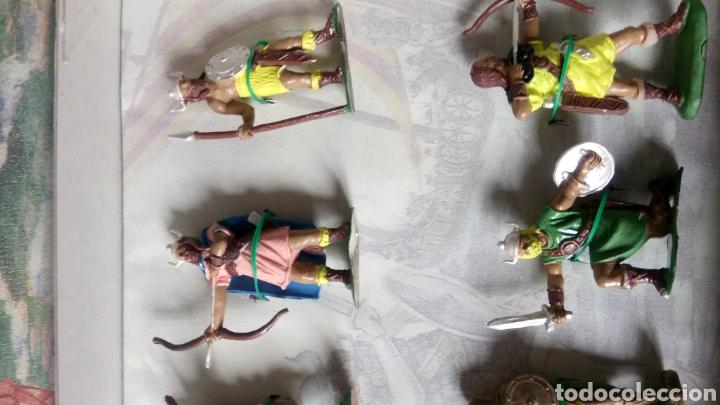 Figuras de Goma y PVC: CAJA COLECCIÓN VIKINGOS DE JECSAN. ENVÍO CERTIFICADO GRATIS (ESPAÑA). - Foto 4 - 262532390