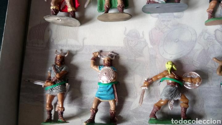 Figuras de Goma y PVC: CAJA COLECCIÓN VIKINGOS DE JECSAN. ENVÍO CERTIFICADO GRATIS (ESPAÑA). - Foto 5 - 262532390