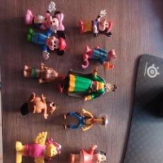 Figuras de Borracha e PVC: LOTE FIGURAS 12 PVC PANTERA ROSA BLANCANIEVES DISNEY LUCKY CASTERMAN. Lote 262620410