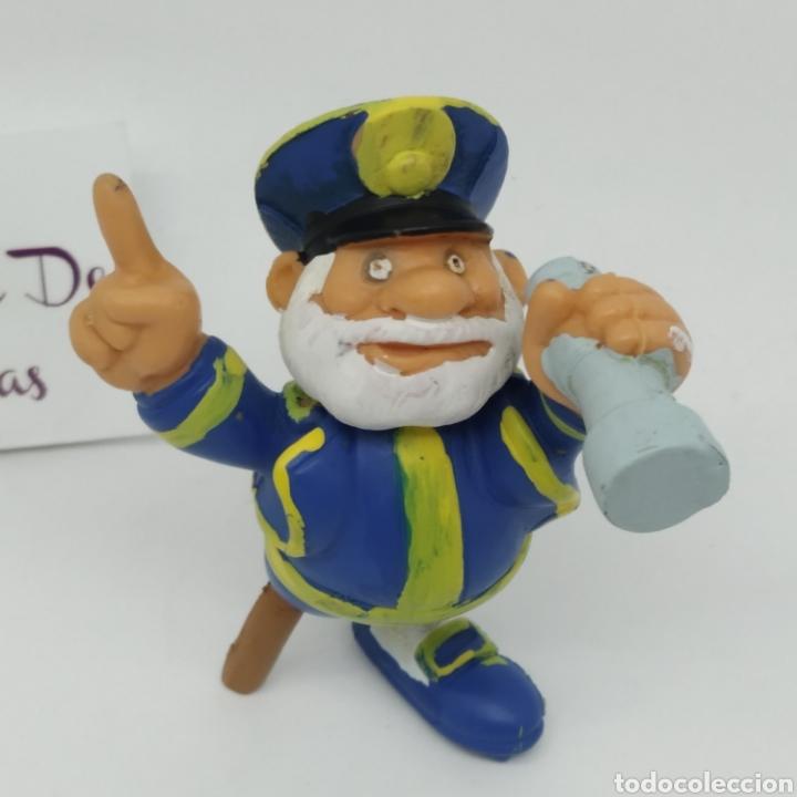 Figuras de Goma y PVC: Figura de goma de Los Els Bobobobs, Capitán Capità Bob marcada BRB de Startoys año 1988 - Foto 2 - 262646800