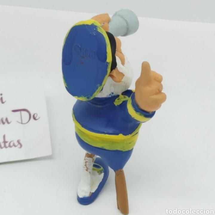 Figuras de Goma y PVC: Figura de goma de Los Els Bobobobs, Capitán Capità Bob marcada BRB de Startoys año 1988 - Foto 4 - 262646800