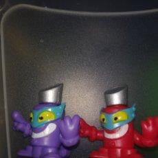 Figuras de Goma y PVC: SUPERZINGS PAREJA EXCLUSIVOS/RAROS. Lote 262651400