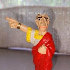 Figuras de Goma y PVC: BONITA FIGURA PVC GOMA JULIO CESAR ASTERIX Y OBELIX MAIA BORGES PORTUGAL. Lote 262672445