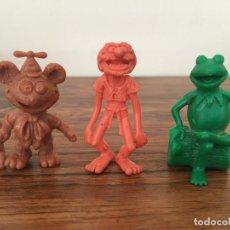 Figuras de Goma y PVC: COMICS SPAIN LOTE TRES FIGURAS SIN PINTAR. Lote 262742325