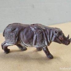 Figuras de Goma y PVC: FIGURA DE PLÁSTICO RINOCERONTE PECH. Lote 262775935