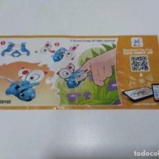 Figuras Kinder: BZP KINDER MIXART SD102.. Lote 262795670