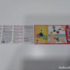 Figuras Kinder: BZP KINDER SUPER MARIO DV551.. Lote 262796190