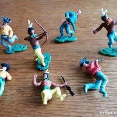 Figuras de Goma y PVC: LOTE DE VAQUEROS (COMANSI, JECSAN, REIGON, SOTORRES, LAFREDO ETC.). Lote 262796260