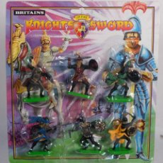 Figuras de Goma y PVC: FIGURA BRITAINS KNUGHTS SWORD - SIN ABRIR. Lote 262798620