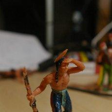 Figuras de Goma y PVC: FIGURA PLASTICO INDIO EXPLORADOR JECSAN. Lote 262813535