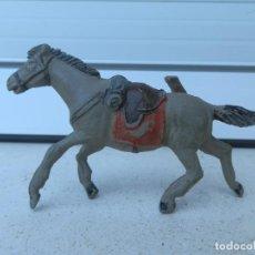 Figuras de Goma y PVC: CABALLO DE GOMA PARA SOLDADO. SERIE DESCABEZADOS. REALIZADO POR JECSAN . AÑOS 50.. Lote 262841970