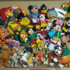 Figuras de Goma y PVC: LOTE DE MUÑEQUITOS ANTIGUOS. Lote 262954365