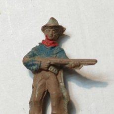 Figuras de Goma y PVC: FIGURA LAFREDO EN GOMA SERIE PEQUEÑA VAQUERO CON RIFLE. Lote 262974220