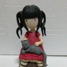 Figuras de Goma y PVC: FIGURA PVC GORJUSS MUÑECA SANTORO LONDON. Lote 262977980