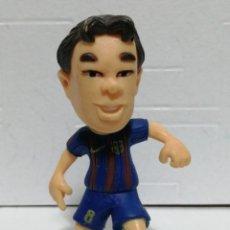 Figuras de Goma y PVC: FIGURA PVC FC BARCELONA INIESTA. Lote 262978160