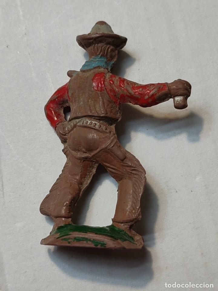 Figuras de Goma y PVC: Figura en Goma Lafredo serie Pequeña Vaquero con pistola - Foto 2 - 262986715