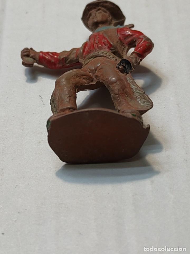 Figuras de Goma y PVC: Figura en Goma Lafredo serie Pequeña Vaquero con pistola - Foto 4 - 262986715