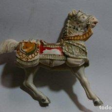 Figure di Gomma e PVC: CABALLO MEDIEVAL JECSAN CRUZADOS HUNOS ATILA CID BEN YUSUF. Lote 262994825