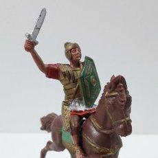 Figuras de Goma y PVC: LEGIONARIO ROMANO A CABALLO . FIGURA REAMSA . SERIE LEGIONES ROMANAS . ORIGINAL AÑOS 60. Lote 262997510