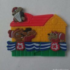 Figuras Kinder: PUZZLE RATONES ACORDEON PUZLE 3D KINDER K99 99. Lote 262999655