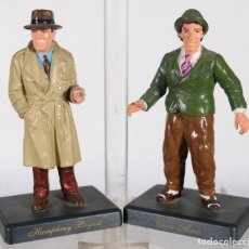 Figuras de Goma y PVC: FIGURAS MINIGAMA HUMPHREY BOGART Y CHICO MARX 1994 Y 1993. Lote 263046810