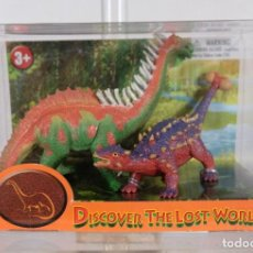 Figuras de Goma y PVC: FIGURAS DINOSAURIOS DISCOVER THE LOST WOLD COLOR BABY S.L - REF. 23.198 MADE IN CHINA - EN SU CAJA. Lote 263047680