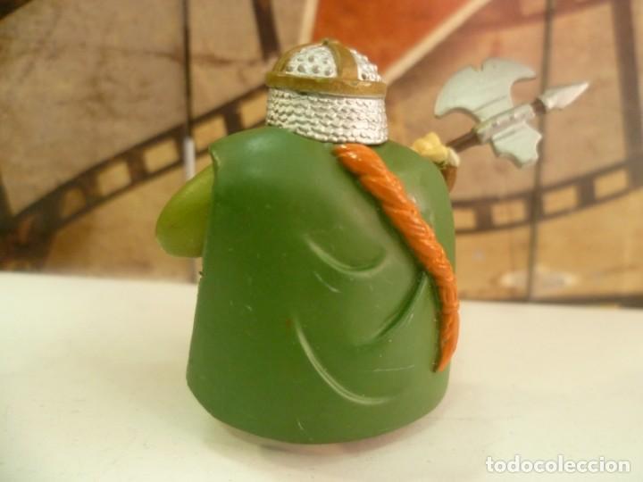 Figuras de Goma y PVC: Figura enano guerrero-RARO - Foto 2 - 263050160