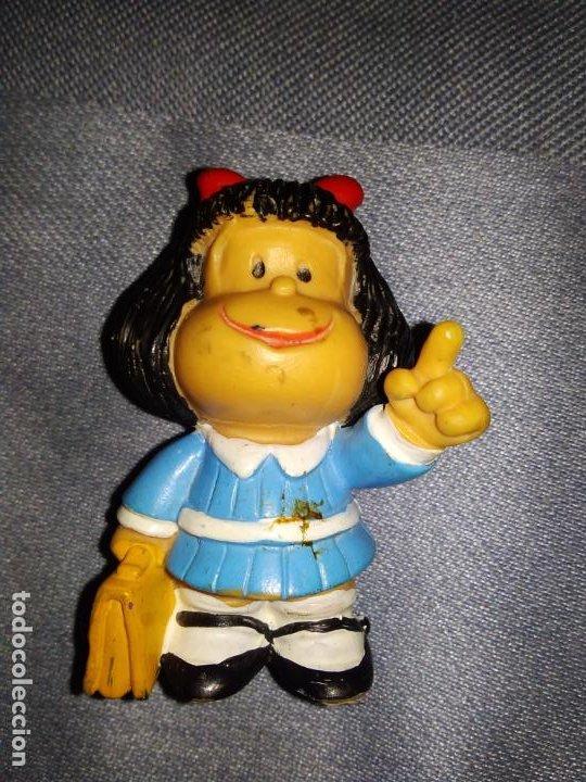 Figuras de Goma y PVC: ANTIGUAS FIGURAS MAFALDA Y TOBY TAPIA (SIN MARCA FABRICANTE, NI AÑO) - Foto 2 - 263054005