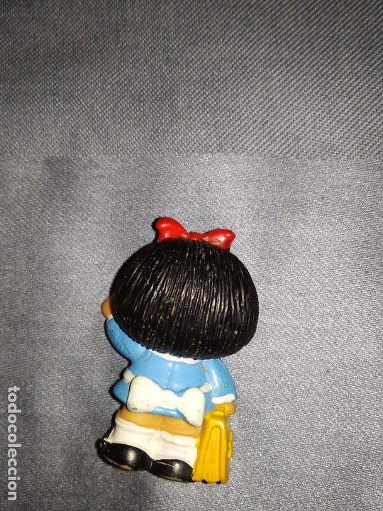 Figuras de Goma y PVC: ANTIGUAS FIGURAS MAFALDA Y TOBY TAPIA (SIN MARCA FABRICANTE, NI AÑO) - Foto 3 - 263054005