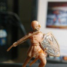 Figuras de Goma y PVC: JECSAN CRUZADO MEDIEVAL FIGURA PLASTICO. Lote 263056995