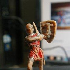 Figuras de Goma y PVC: JECSAN CRUZADO MEDIEVAL FIGURA PLASTICO. Lote 263058370