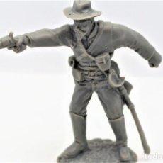 Figuras de Goma y PVC: FIGURA EN PLÁSTICO GUERRA CIVIL AMERICANA. NORDISTAS / CONFEDERADOS. ESCALA 1/32.. Lote 263062355