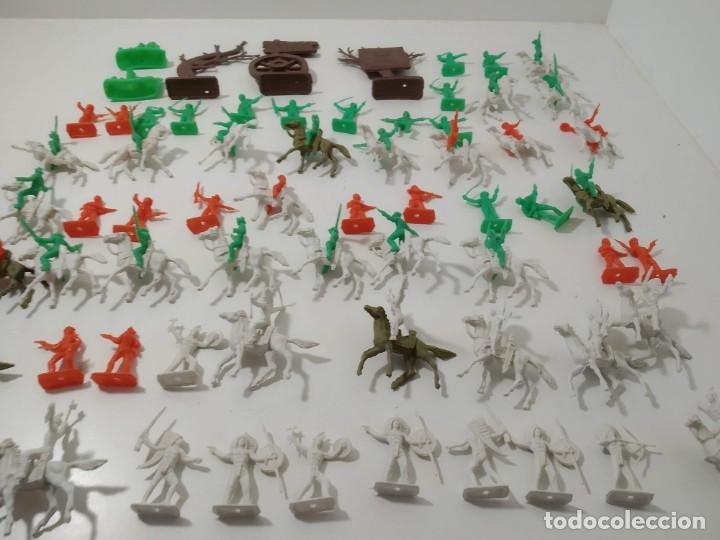 Figuras de Goma y PVC: Gran surtido indios y vaquero minioeste comansi . Años 70/80 - Foto 2 - 263083910