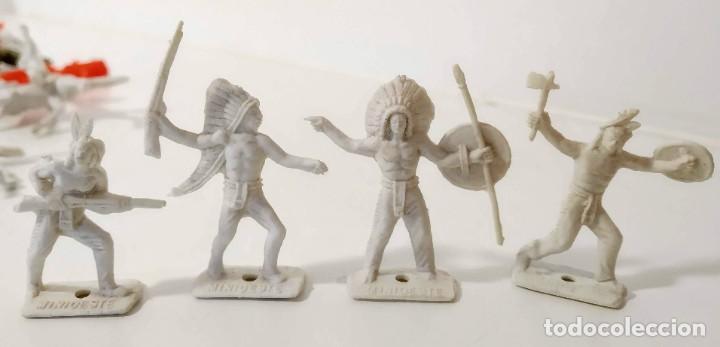 Figuras de Goma y PVC: Gran surtido indios y vaquero minioeste comansi . Años 70/80 - Foto 8 - 263083910