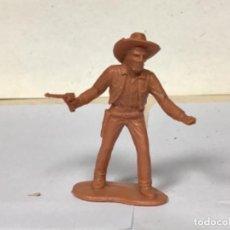 Figuras de Goma y PVC: FIGURA LADRON VAQUERO COWBOY DILIGENCIA REAMSA OESTE WESTERN NO PECH JECSAN COMANSI. Lote 263098725