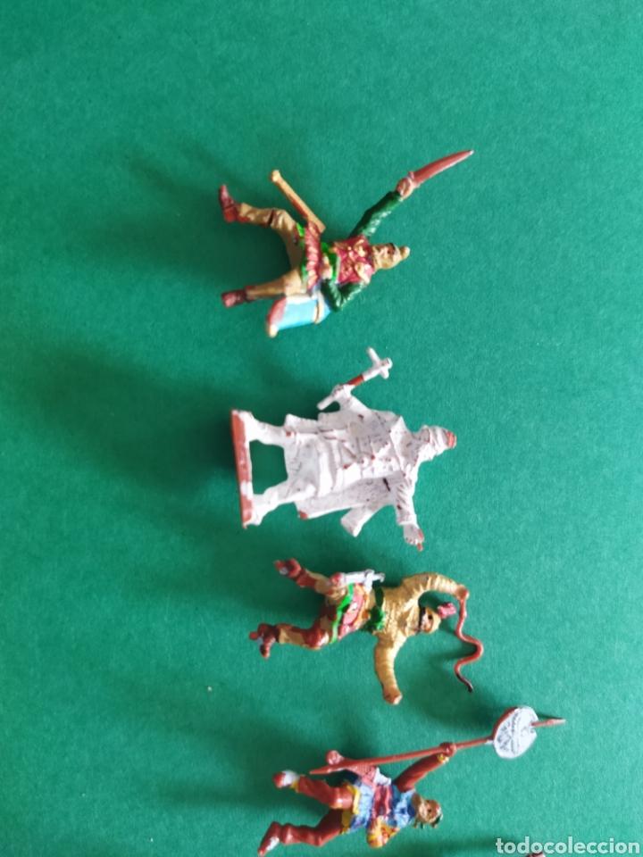 Figuras de Goma y PVC: Lote de 12 pequeñas figuritas antiguas varias marcas , Exin, Comansi.. - Foto 8 - 263149185
