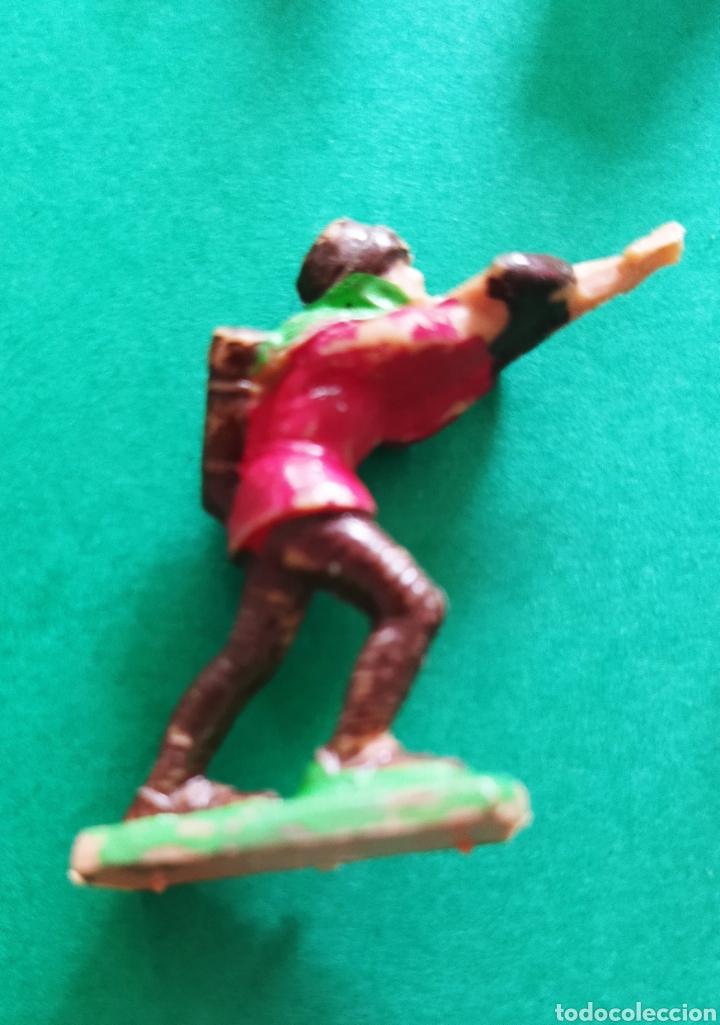 Figuras de Goma y PVC: Lote de 12 pequeñas figuritas antiguas varias marcas , Exin, Comansi.. - Foto 9 - 263149185